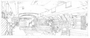 Réalisation de l'illustration en plusieurs étapes.... dans illustration lupin-couleur-300x128